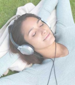 sleep with headphones